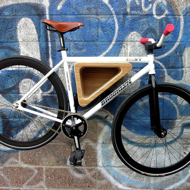 Funky bike rack
