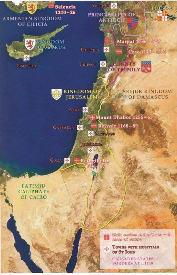 Knights Hospitaller Map of Kingdom of Jerusalem and Crusader states on beirut on map, islam on map, constantinople on map, damascus on map, rome on map, medina on map, london on map, israel map, aleppo on map, baghdad on map, amman on map, cairo on map, golan heights on map, alexandria on map, mecca on map, middle east on map, kabul on map, juba on map, gaza on map, tel aviv on map,