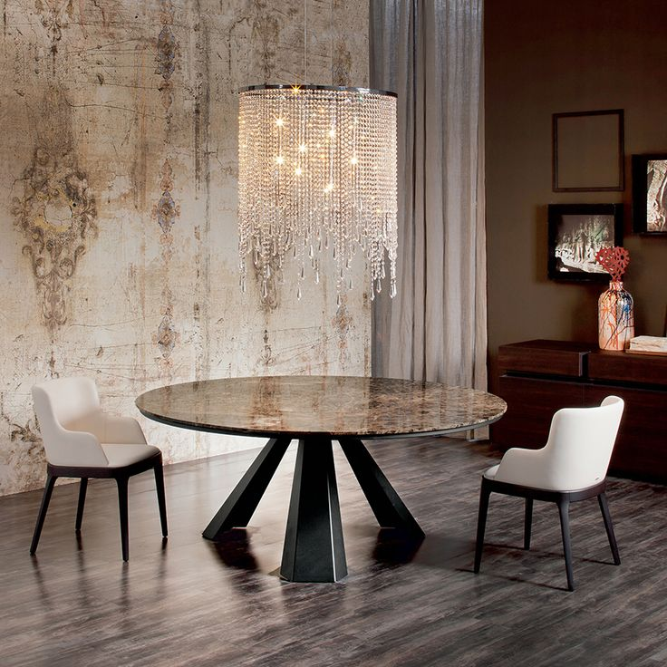 Dining Table Marble Furniture, Modern Dining Room Furniture Miami