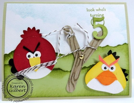 Angry Birds Birthday: Cards Birthday Numbers, Art Giftwrap Cards Scrapbook, Birthday Cards, Cards Children, Angry Birds Birthday, Birds Birthday Alex, Cards Boys, Paper Crafts, Boys Cards