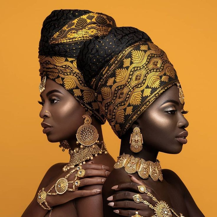 Beautiful African models