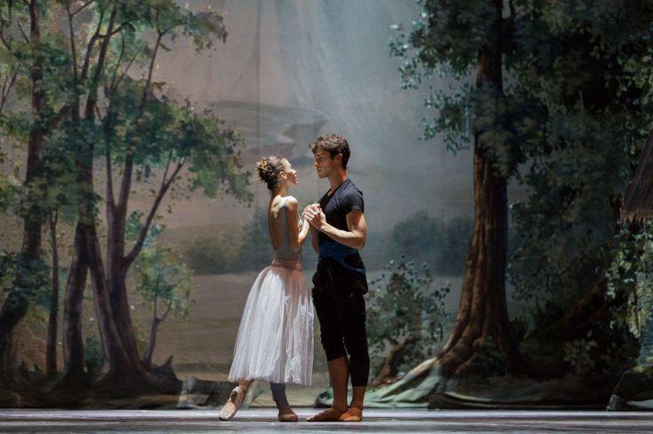 Introducing Rebecca Bianchi, Rome Opera Ballet's new Principal ballerina - Rebecca Bianchi Rehearsing Giselle With Claudio Coviello   Photo Teatro Dell'opera Di Roma
