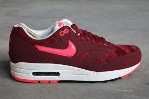 Nike Air Max 1 Premium Heren Donkerrood Zwart Varen Wit Koraal Kleurtje Schoenen 512033-660 kopen. Factory Store Belgie