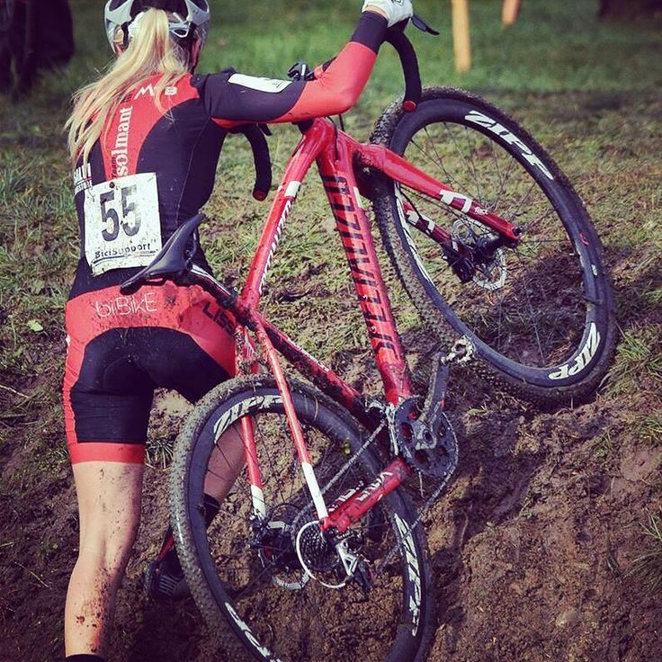 Girly mud cx by bi-Bike!