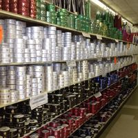 This store is AWESOME for homecoming supplies!  The Saleplace is HUGE and is in Mesquite Texas, just on the outskirts of Dallas.  It has great prices & amazing selection for mum supplies, silk flowers, wedding products, floral supplies, ribbons, and cake making supplies.