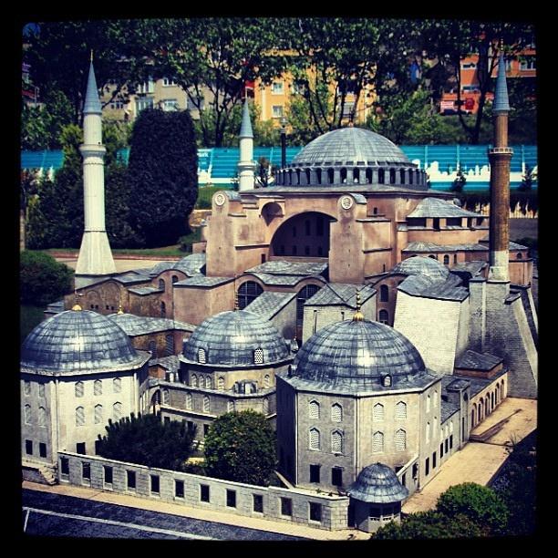 Hagia Sophia model at Miniaturk