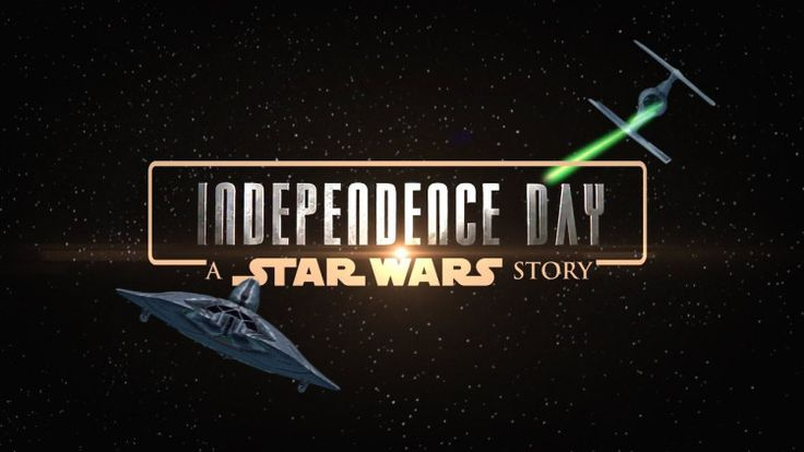 Will Smith and Jeff Goldblum Blow Up the Death Star in a Mashup of Independence Day and Star Wars