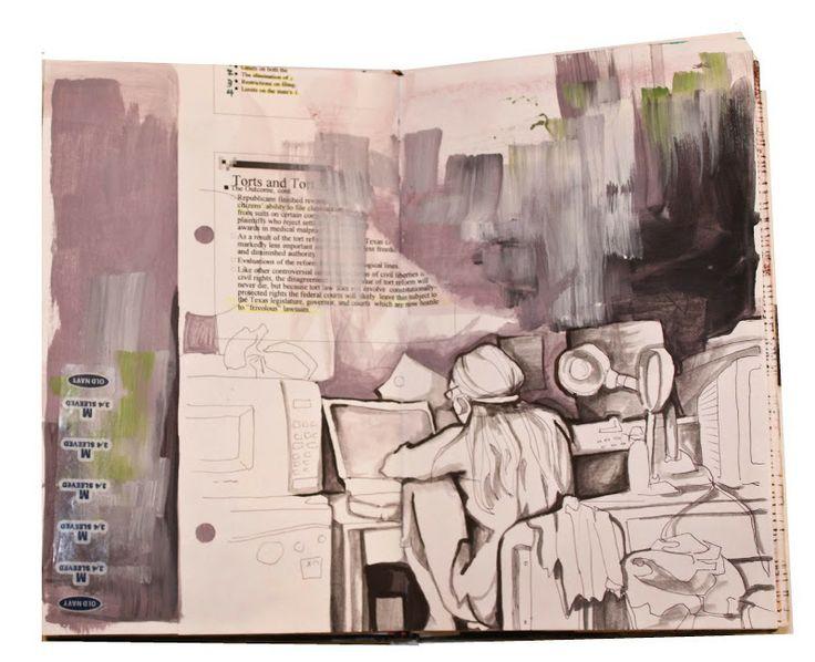 Lauren Spindle : Artist Blog: Sketchbook 2: 2005