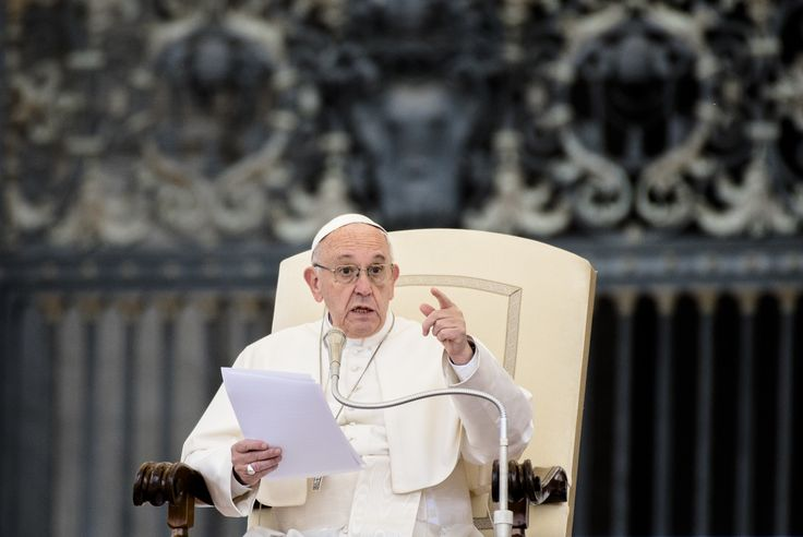 Pope Francis Blasts 'Perverse Attitudes' Of Climate Change Deniers The U.S. remains the only country in the world to reject the Paris climate agreement.
