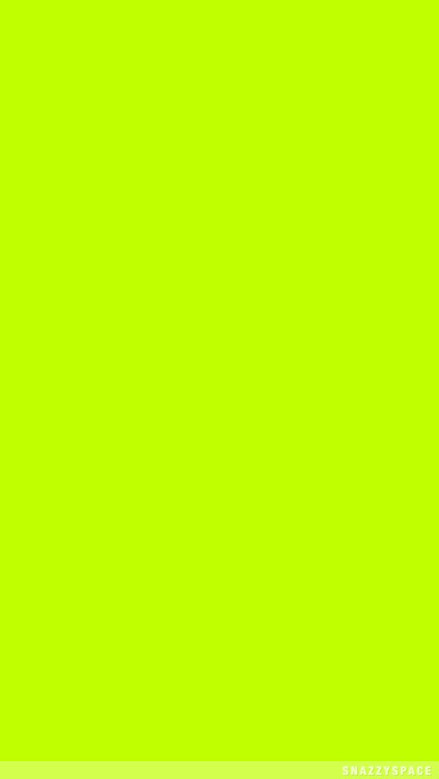 Plain neon yellow green iphone wallpaper phone background lock screen