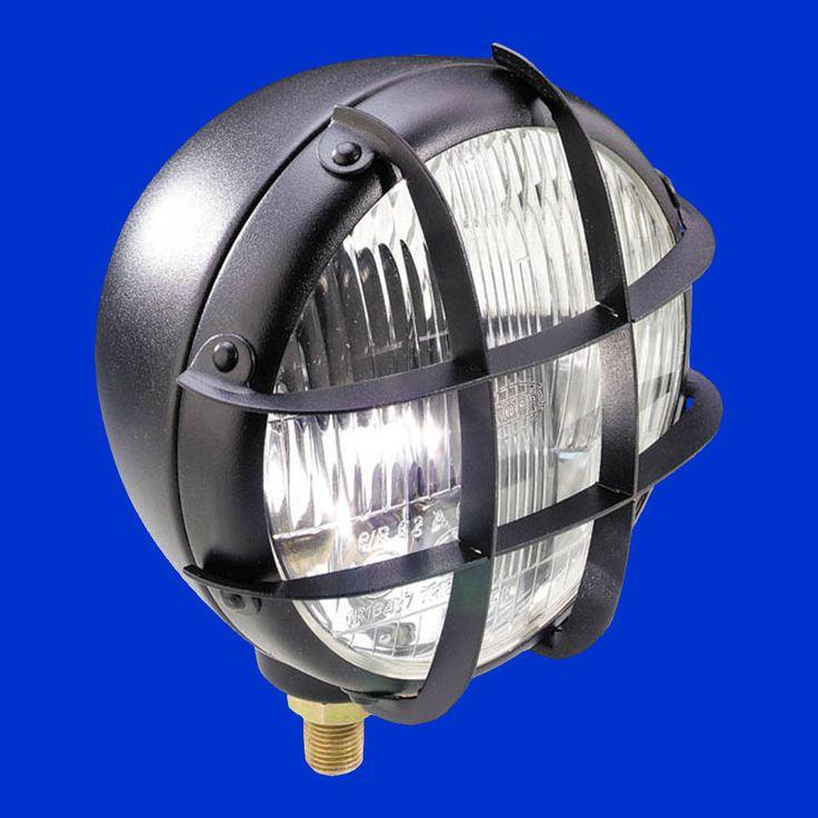 Scheinwerfer für Trecker Schlepper etc Metallgehäuse für Aufbau oder seitl Anbau