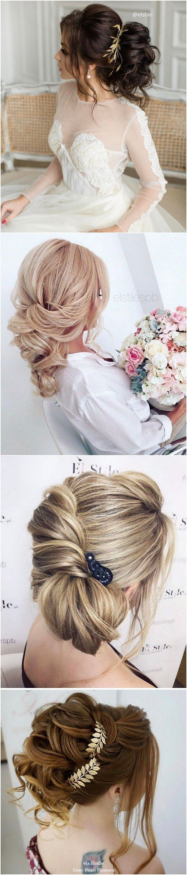 Elstile Long Wedding Hairstyle Inspiration / http://www.deerpearlflowers.com/elstile-long-wedding-hairstyle-inspiration/