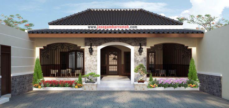 Desain Rumah Tradisional Jawa Modern