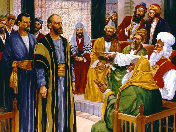 """Pandanglah Pada YESUS Kunci Kepada Kuasa Rasuli """"Maka jawab Petrus, penuh dengan Roh Kudus: 'Hai pemimpin-pemimpin umat dan tua-tua, jika kami sekarang haru"""