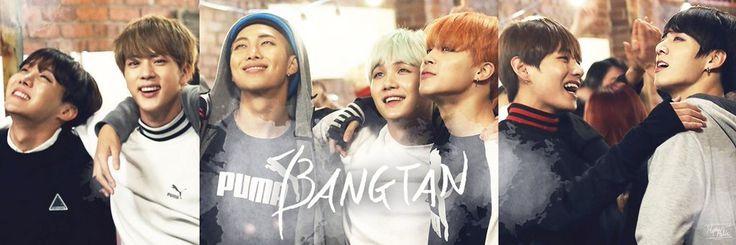 BTS Header | Credits To The Owner ️ | 방탄소년단 (Bangtan Boys ...