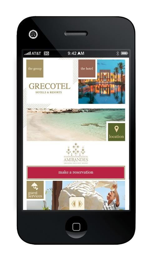 Amirandes hotel app