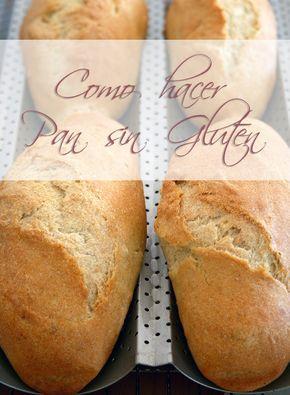 Hacer pan sin gluten, es una de las cosas más complicadas