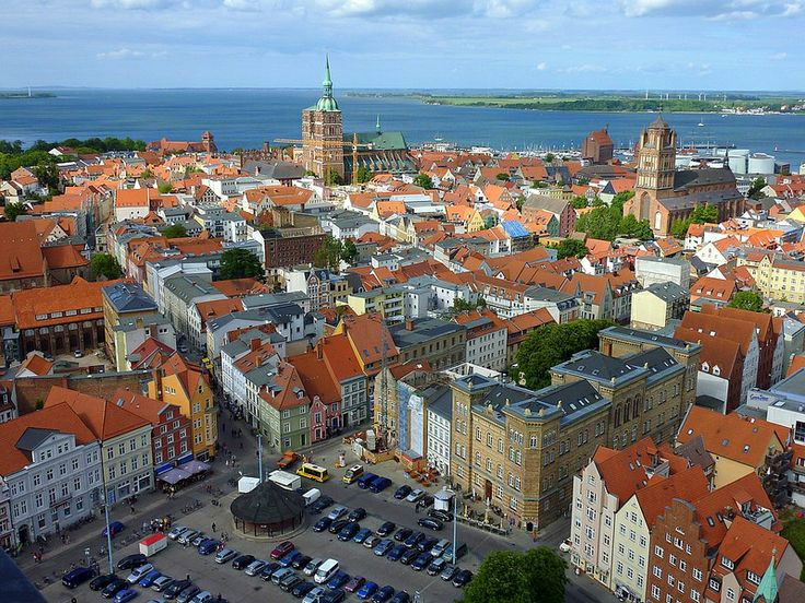 Stralsund, an old city of the hanseatic league, Germany (Unesco world heritage)