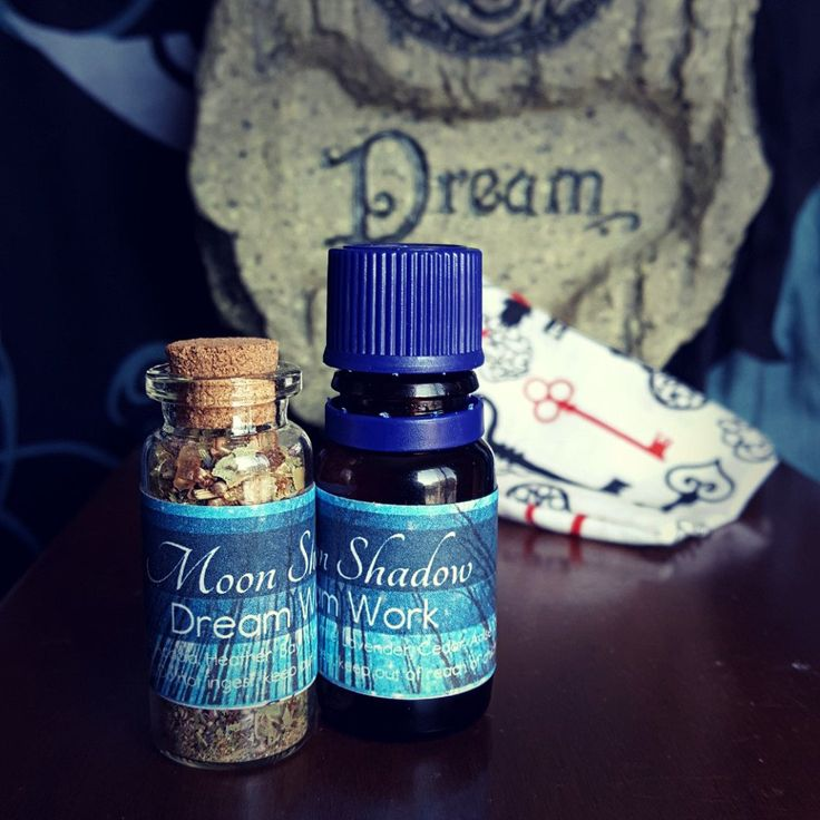Dream Work Set $18.50   This Dream Work incense and oil Set is charged for vivid to lucid dreaming and is extremely versatile.To aid in dream walkingrub the oilonto the bottom of the feet,this alsohelps in recall and in some instances promotes prophetic dreaming. The herbs can be used as an incense, bottle charm or placed in a spell bag ora dream pillow. The Handcrafted Spell bags are a good addition to this set.  All oils are 10% dilution in Jojoba oil. and come in a 10 ml bottle…