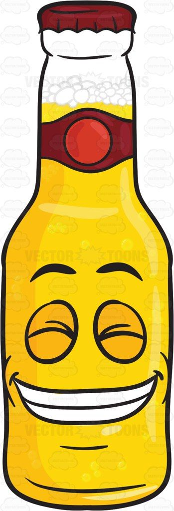 Bottle Of Beer Smiling Widely Showing Set Of Teeth Emoji #adultdrink #beer #beerbelowzero #beerbottle #beercap #beverage #blessed #blissful #booze #boozing #bottle #brew #brewage #bright #cap #cheerful #coldbeer #content #contented #drink #drinkable #drinking #drunkenness #elated #euphoric #felicitous #food #fortunate #glad #golden #happy #joyful #joyous #laughing #liquor #malt #prosperous #vector #clipart #stock