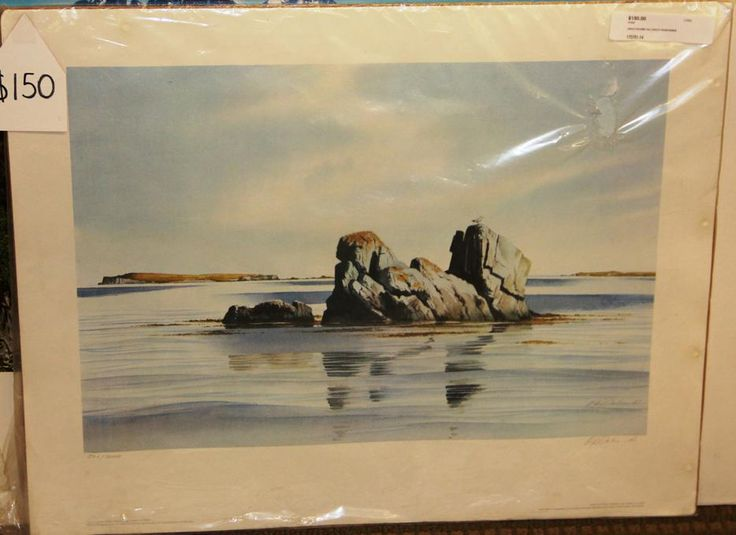 The Lookout Grand Manan  by Oswald Schenk  #yyj #shoplocal #art