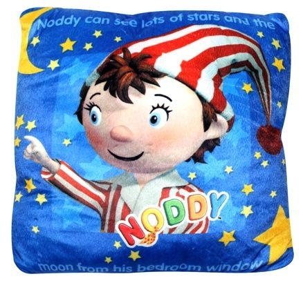 Noddy Square Shaped Cushion- Noddy Bedtime [TSSTSCNBT] - ₹299.00 : Toyzstation.in, The online toys store