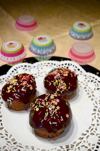 Muffins σοκολάτας