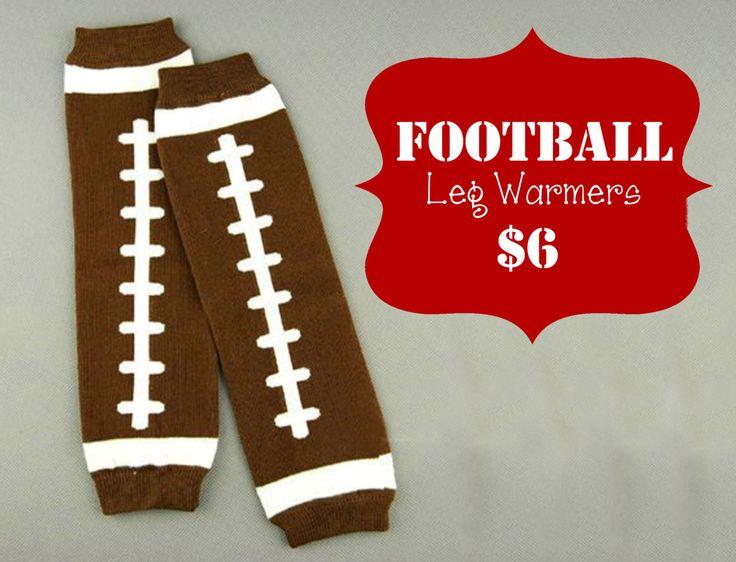 Children's Football Leg Warmers by ChleeHenderson on Etsy, $6.00