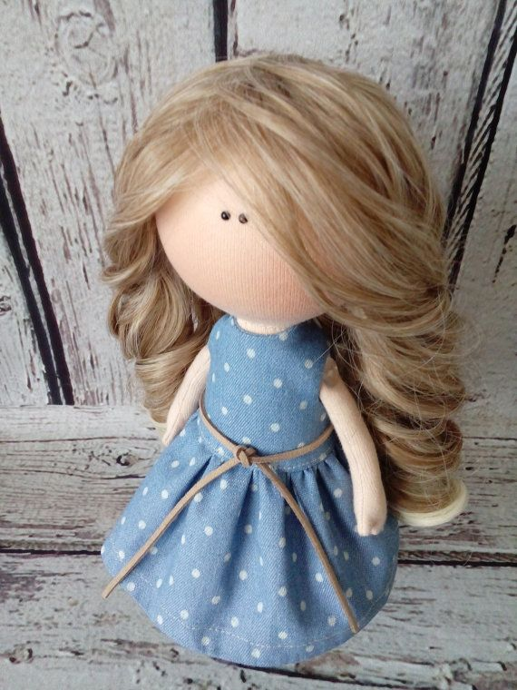 Home doll Interior doll Tilda doll Art doll by AnnKirillartPlace