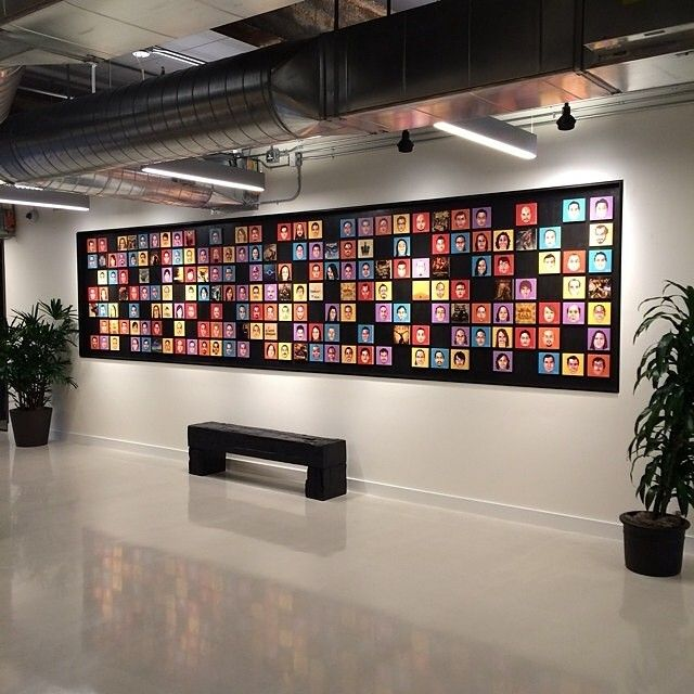 29 best Creative Employee Photo Wall images on Pinterest ...