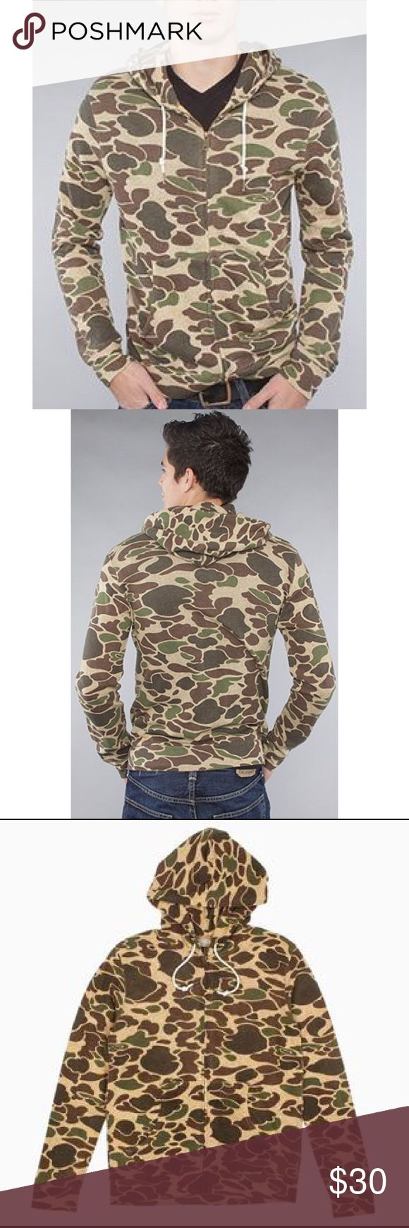 Obey men's creature comforts hoodie fall leaf camo Brand new with tags. Obey Shirts Sweatshirts & Hoodies