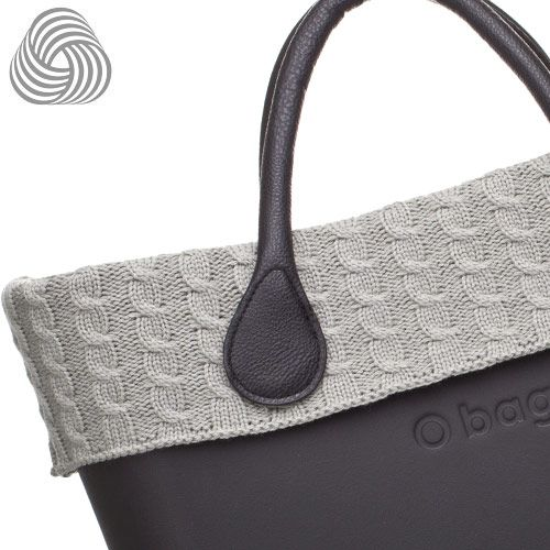 Twisted Wool Trim - Grey - O Bag Accessory