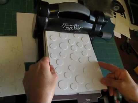 For scrappers who have the Big Shot Machine...this video shows how to make your own texture plates!