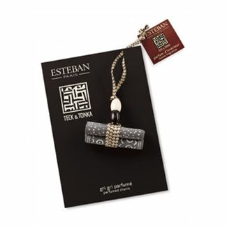 Esteban Paris TECK & TONKA Perfumed Good Luck Charm