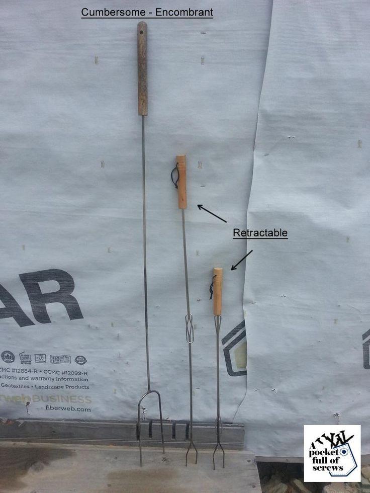 Retractable Mashmallow stick