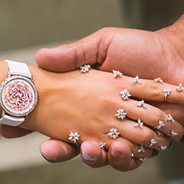 A gorgeous Piaget rose watch
