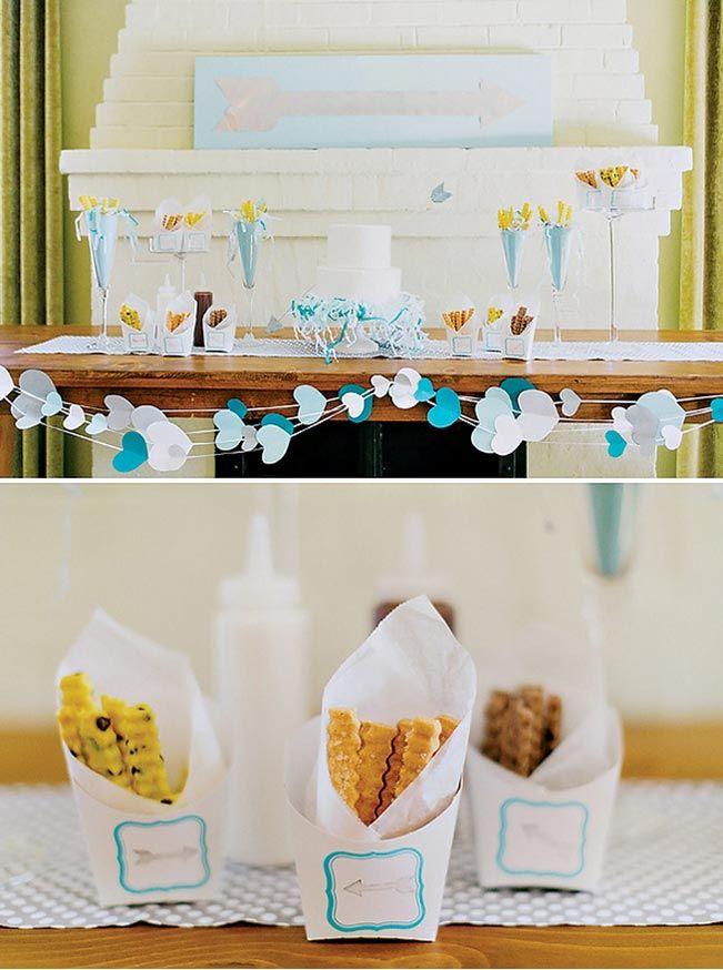 Decoração de noivado ou mini casamento: Tons de azul   Blog do Casamento - O blog da noiva criativa!   Decoração, Decoração