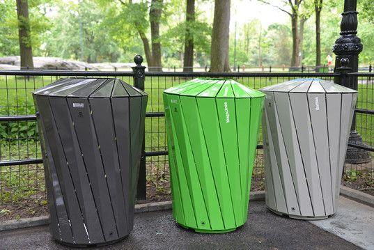 NYC Designer Trash Cans
