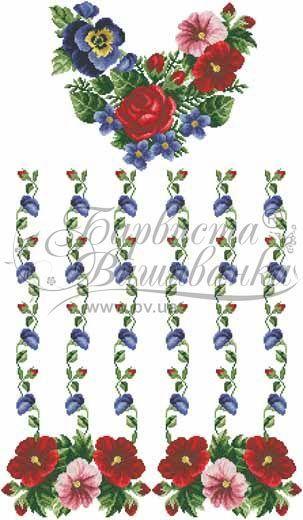 Домотканая белая женская вышиванка БЖд-035Б