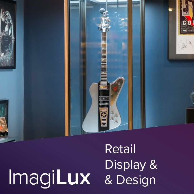 Designed with imagilux custom panels the stanley freestanding cabinet is an amazing way to light · the stanleyretail displaysyour