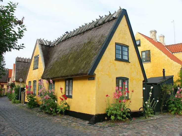 Dragør, Small Fishing Village nearby København, Live in The Villages, На Село, Denmark, Save the Earth!
