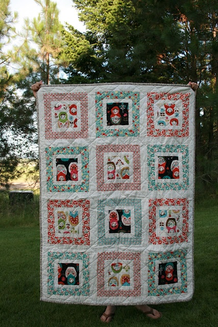"Hello Betty Matryoshka by Leigh at leedle deedle quilts - includes ""how to"" information."