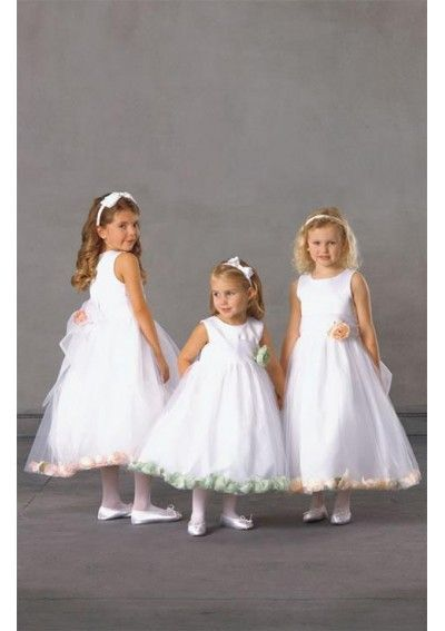 10 Best images about Flower Girl Dresses on Pinterest  A line ...