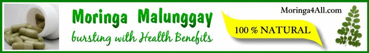 Moringa Malunggay Health Benefits