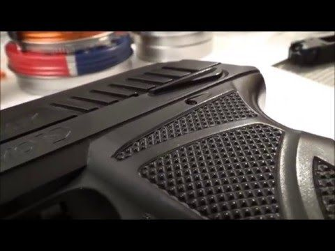 Gamo PT-85 Pistol - detailed close up - Taplic video