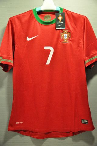 Portugal National Football Team C RONADLO Home Soccer Jersey Shirt European Cup 2012 World Cup 2014 – Nice Day Sports