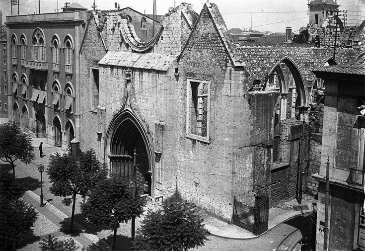 Convento do Carmo, 1895