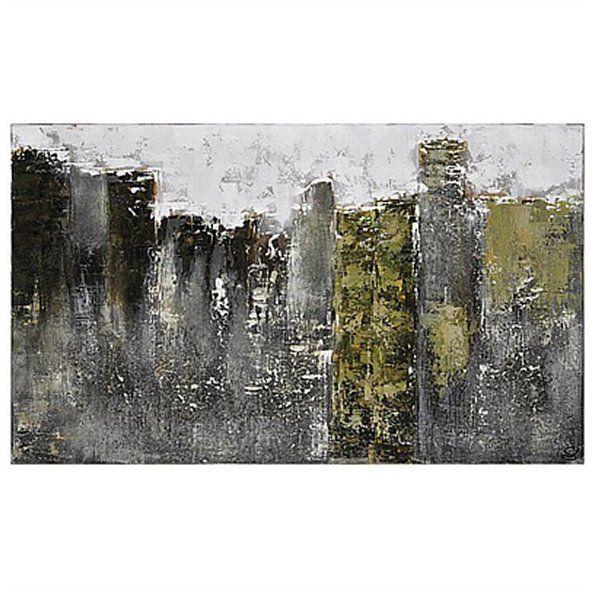 Ren Wil Fog City Canvas Art