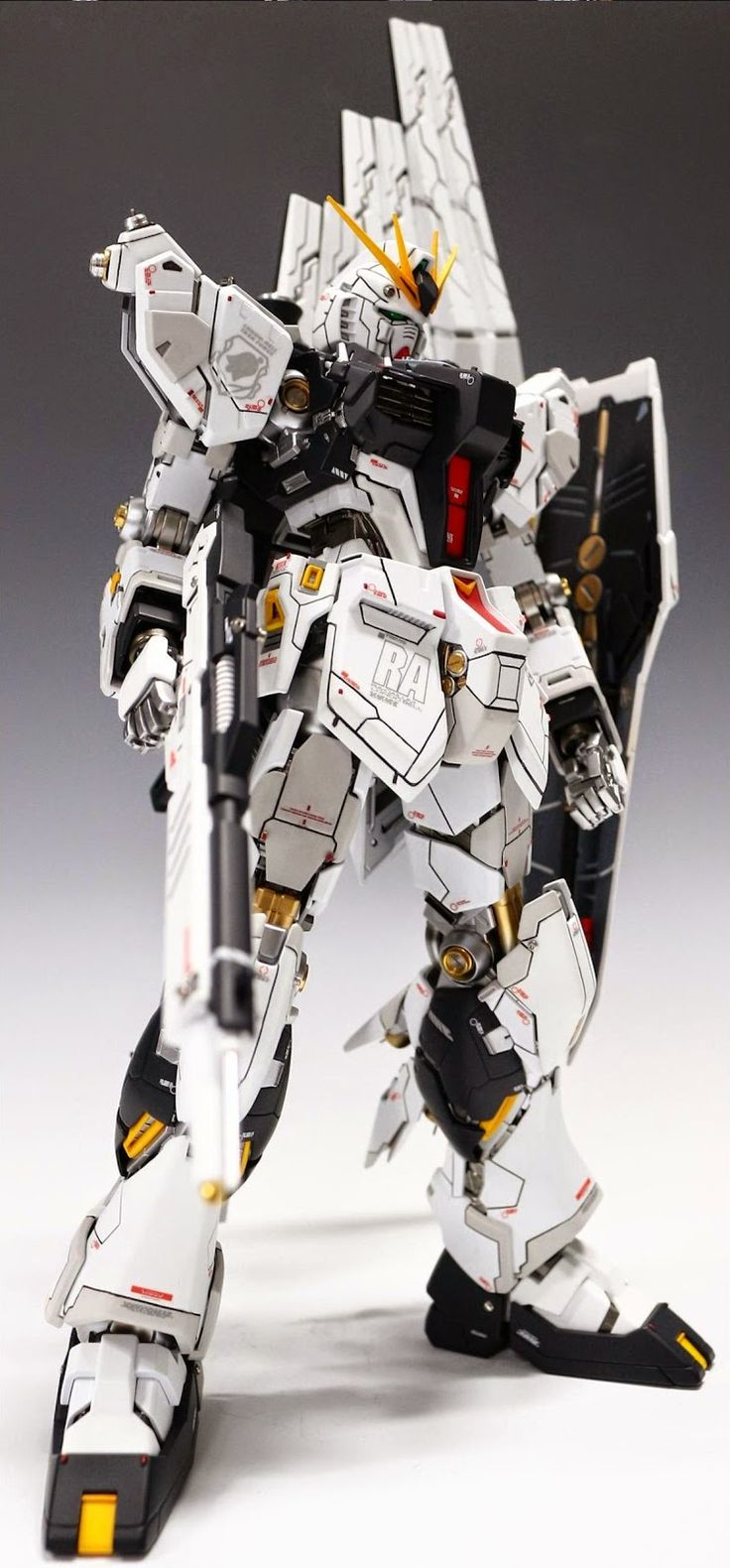 GUNDAM GUY: MG 1/100 RX-93 Nu Gundam Ver. Ka - Customized Build
