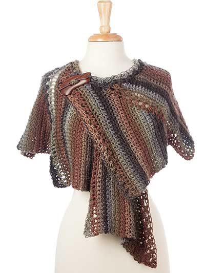 Crochet - Star Zag Crochet Shawl - #886002